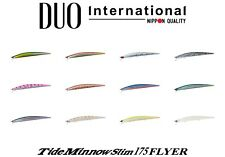 DUO Tide Minnow Slim 175 Flyer Saltwater Sinking Lure - Select Color(s)