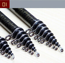 Carbon Telescopic Spinning Casting Pole 3.6m-6.3m Saltwater Sea Fishing Rods New