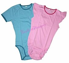 ROMPER ONESIE ABDL Adult Size Baby Snap Crotch Pajamas Diaper Holder + Free Gift