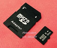 Real Capacity Micro SD SDHC C 10 TF Flash Memory Card for Tablet Cell Phone PDA