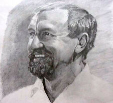 HAND DRAWN COMMISSION A PENCIL PORTRAIT FROM YOUR PHOTO A4, A3 ANY SUBJECT