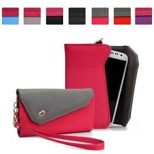 Womens Link Wallet Case Clutch Cover for Smart Cell Phones by KroO CRWL5