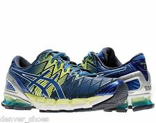 Asics Kinsei 5 Men's Running Shoes NEW Navy/Royal/Lime T3E4Y 5042 AUTHENTIC