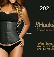Ann Chery Original 3 Hooks New Collection-Latex Waist Cincher - Corset - Girdle