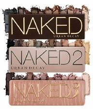 NEW URBAN DECAY NAKED 1 2 3 PALETTE EYE SHADES EYESHADOW