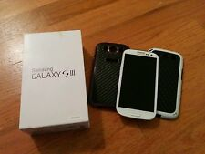 Unlocked Samsung Galaxy S III SGH-T999 16GB Marble White (T-Mobile) Smartphone