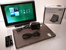 Acer Iconia A500-10S16u 16GB Wi-Fi 10.1in Android 4.0 ICS Tablet + DOCK + CASE