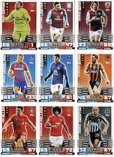 Match Attax Extra 2015 Trading Cards (Squad Update Card Set) All 76 Cards 1-76