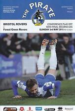 * FULL SET OF ALL BRISTOL ROVERS 2014/15 HOME PROGRAMMES *