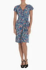 Leona By Leona Edmiston mock wrap dress size 8,16