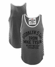 Roots of Fight Mike Tyson Brooklyn's Own Striped Tank Top L XL XXL Boxing