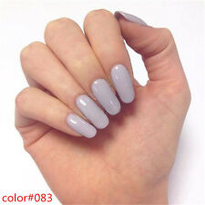 Fashion Nail Gel Polish Soak Off Shiny Varnish Nail Art UV LED Lamp Manicure 8ml