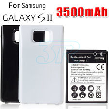 3500 mAh Back Cover Pack for Samsung Galaxy S2 Battery Backup Extended SII i9100