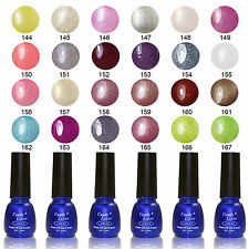 Candy Lover UV Gel Nail Polish Metallic Soak Off Varnish Long Laating Tip 8ml