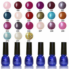 Pro UV Gel Nail Polish Glitter Color Lacquer Soak Off Nail Art Manicure Tips 8ml