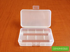 HIGH QUALITY Plastic Case Holder Storage Box for 18650 16340 CR123A Battery