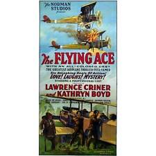 NEW! Vintage The Flying Ace Lawrence Criner Movie Poster Home Decor Wall Art
