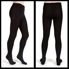 NEW with Tag ABS by Allen Schwartz Black Fleece-Lined Tights * FREE SHIPPING