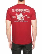 True Religion Logo Double Puff Mens T-Shirt