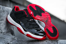 Air Jordan 11 XI Retro Low Black Red Bred 2015 528895-012 concord cement