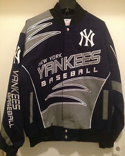 New York Yankees Cotton Twill Jacket -Shred Twill Jacket by G-III(Free Shipping)