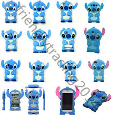 3D Silicone Stich Case Cover For iPhone/Touch/Samsung/LG/HTC/Sony/Huawei/Motora