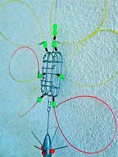 """strong CRAB SNARE 3""""X1""""X1"""" GLOW BEADS  ATTRACTS MORE CRABS TO YOUR BAIT CAGE"""