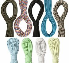 Paracord 100ft 550 7 Strand Cord Rope for Bushcraft Survival EDC