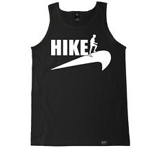 HIKE HIKING OUTDOORS CAMPING RUN JOURNEY FUNNY WORKOUT TRAIN FITNESS TANK TOP