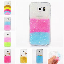 Luxury Bling Glitter Soft TPU Back Case Cover For Samsung S6 Note4 iPhone 5 6 6+
