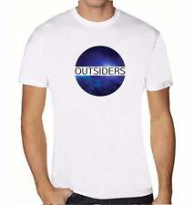 NEW MENS PRINTED COSMOS GALAXY OUTSIDERS GRAPHIS DESIGN FUNNY HIPSTER T-SHRIT