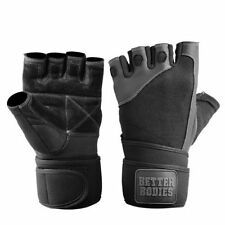 Gloves Pro Wrist Wrap Gloves Better Bodies Bodybuilding With Bands Wrists