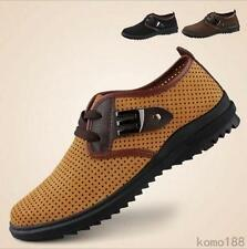 New Fashion Mens Casual genuine leather lace up breathable sandal sneaker shoes