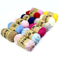 New 100g/Skein Soft Cotton Milk Fiber Baby Knitting Yarn Knitting Crochet Craft
