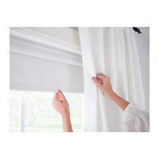 IKEA TUPPLUR Block-out Roller Blind, Window Roller Shades Pull up Blockout WHITE