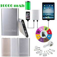 10000mAh Portable External Battery USB Charger Power Bank for iPhone6 Samsung LG