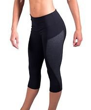 Coovy ATHLETE Women's Fitness Sports Capri Tights Running Workout Yoga Pilates