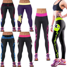 NEW HOT High Waist Gym Fitness Leggings for Women's Fashion Yoga Casual Pants
