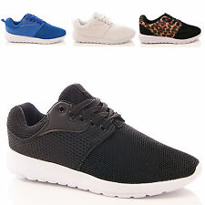 LADIES WOMENS TRAINERS RUNNING FITNESS SPORTS GYM YOGA TRAINING SHOES SIZE