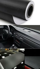 "YO DIY 12""x50"" 3D Texture CARBON Fiber Wrap Vinyl Decal Car Sticker Sheet MO"