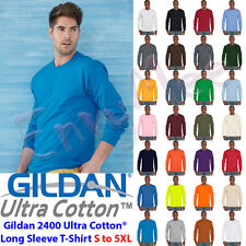 Gildan 2400 Ultra Cotton® Classic Fit Adult Long Sleeve T-Shirt S to 5XL