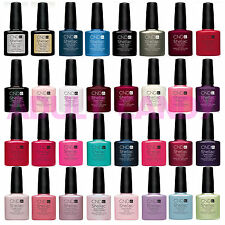 CND Shellac UV Nail Polish Choose from ANY NEW 2015 Colours | Base or Top Coat