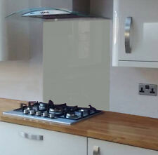 Pastel Green Coloured Toughened Glass Splashback 600 x 750mm