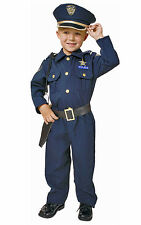 CHILDS CHILDRENS AMERICAN US POLICE UNIFORM OUTFIT FANCY DRESS COSTUME AGE 4-14