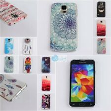 ULTRA THIN Fashion Rubber Soft Gel Back Cover Case Skin For Samsung Galaxy S4 S5