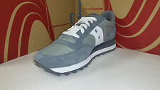 Saucony Men's Jazz Original Grey White Running Shoes sizes 8, &  8.5 M