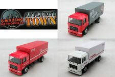 Affluent Town 1:64 Diecast Man Truck White / Red Color Model COLLECTION New Gift