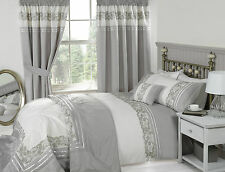 Chantilly Embroidered Duvet Cover Set