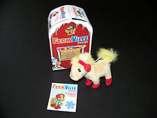 Zynga Farmville Plush Ornament Horse