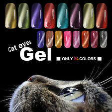 10ml Cat Eyes Gel Polish Nail Art Varnish UV LED Lamp Manicure Magnetic Gel Tips